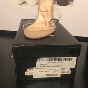 Nasty gal clear heels